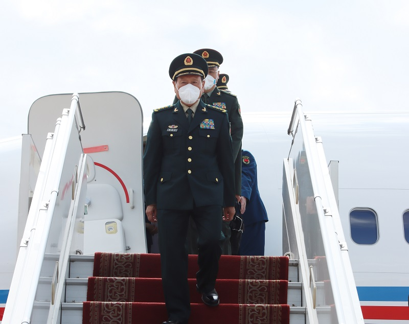 БНХАУ-ын Төрийн зөвлөлийн гишүүн, Батлан хамгаалахын сайд ВЭЙ ФӨНХӨ Монголд айлчилж байна
